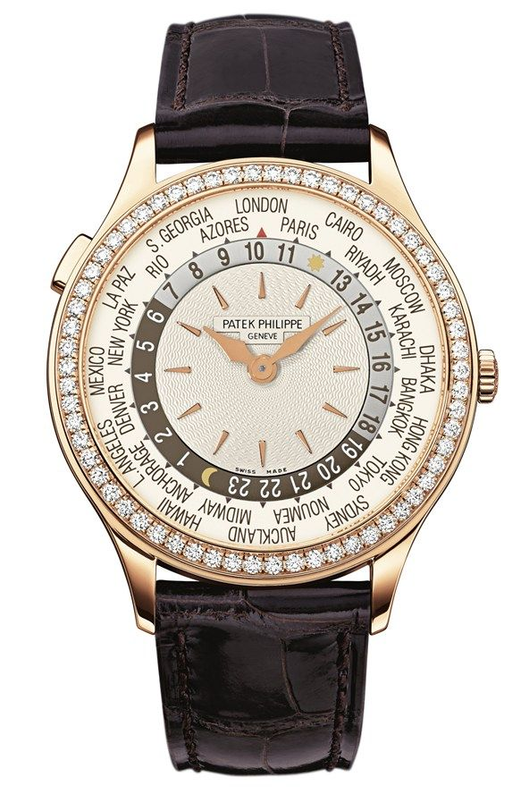 October 27 ~ The clocks go back tonight. Turn back time in style with the new Patek Phillippe Aquanaut in rose gold.