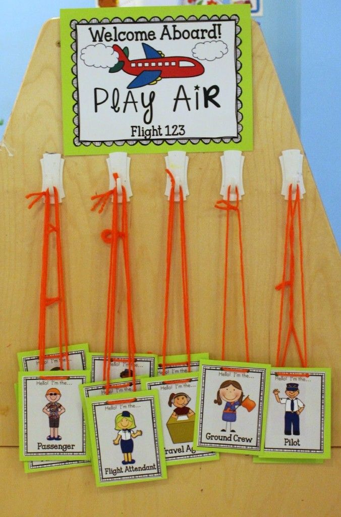 Airport Dramatic Play Center - Play to Learn