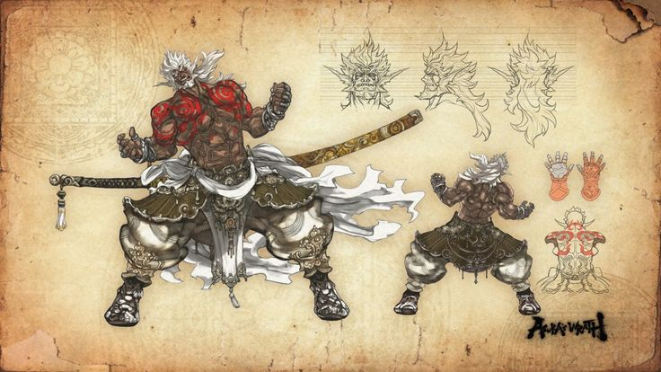 http://dandger88.tumblr.com/post/113151991387/asuras-wrath-concept-arts-part-2