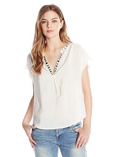 Joie Women's Bosi Cap-Sleeve Top