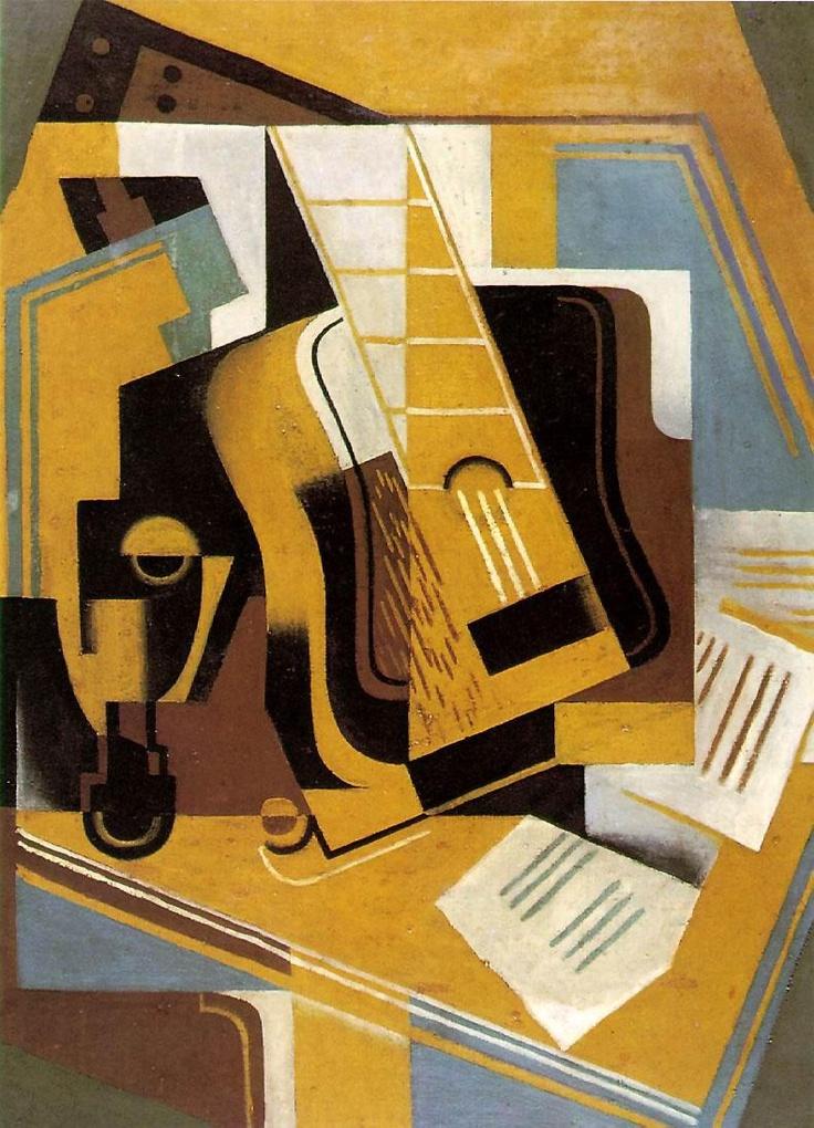 juan Gris | guitar 1918