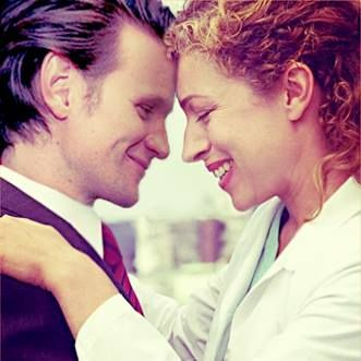 The Doctor and River Song (how have I never seen this picture before?)