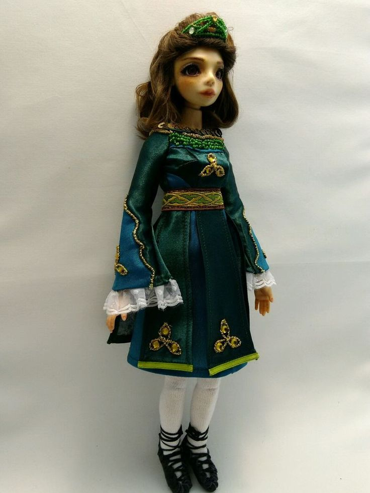 "One of a kind ball jointed doll ""Sinéad"" (OOAK BJD) #NatalieFranz"
