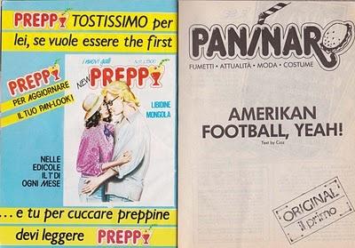 Preppy e Paninaro, i fumetti dei Paninari '80  #paninaro #paninari