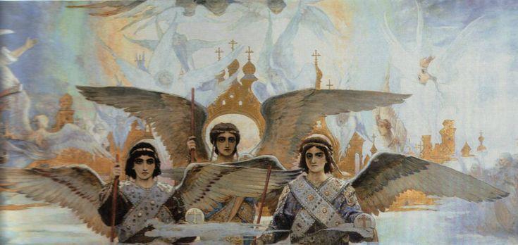 барабан главного купола Владимирского Собора в Киеве