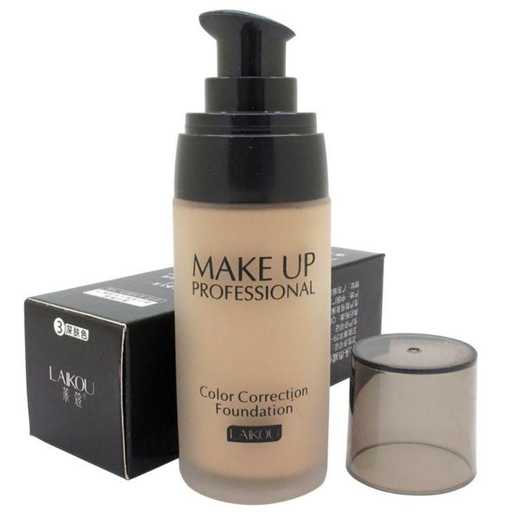 Womens Whitening Moisturizing Concealer Liquid Foundation Makeup Cosmetic Beauty
