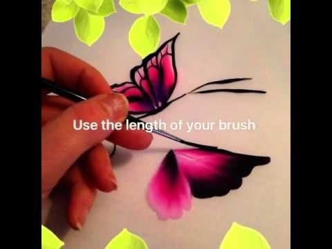 Tutorial on how to use brushes for face painting - YouTube