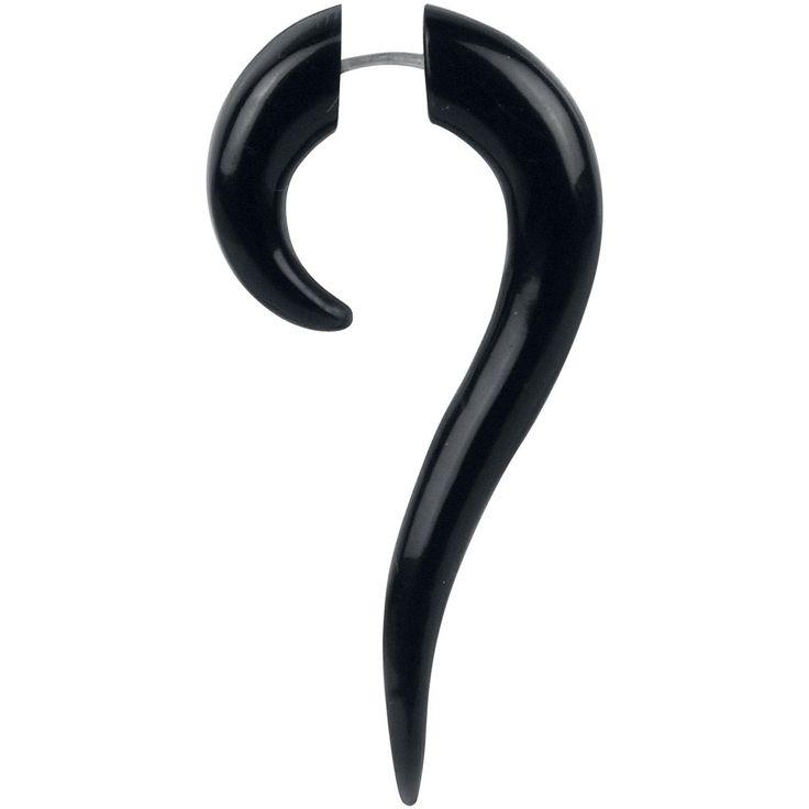 Buffalo Horn Serpentina - Ohrstecker von Wildcat