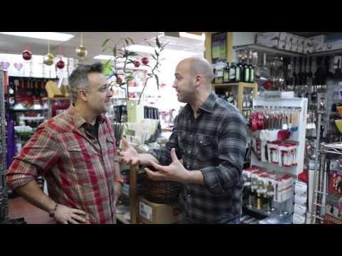 Alex rencontre Stefano Faita à la Quincaillerie Dante & Mezza Luna