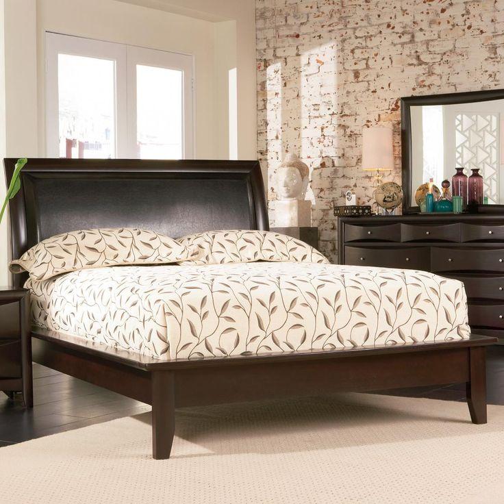 phoenix california king platform bed by coaster