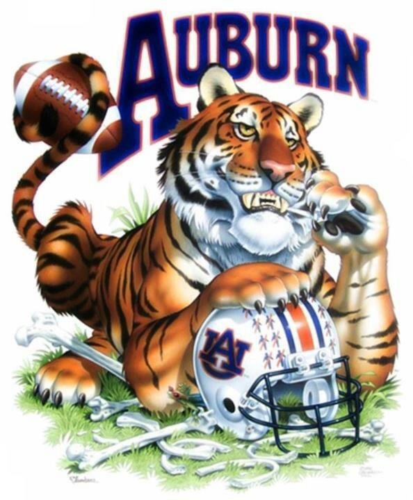 Auburn! War Eagle!!!!!!!!