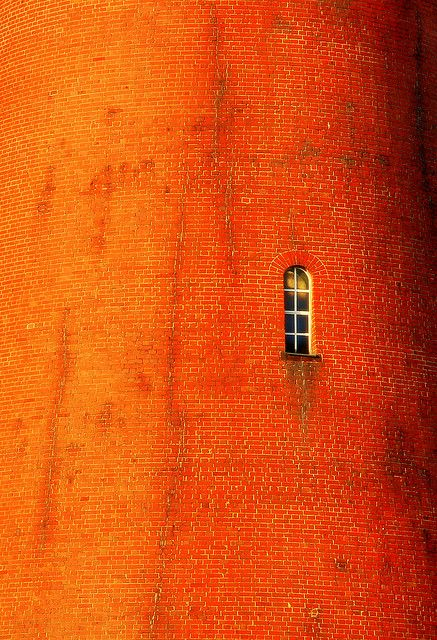 Anonymous - Bricks ::: Zagara's request: Please add more information available when Re-Pinning this one ::: Brick tower with window