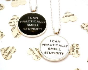 I'm In My Mind Palace Sherlock Quote Necklace by TwoTimeVintage