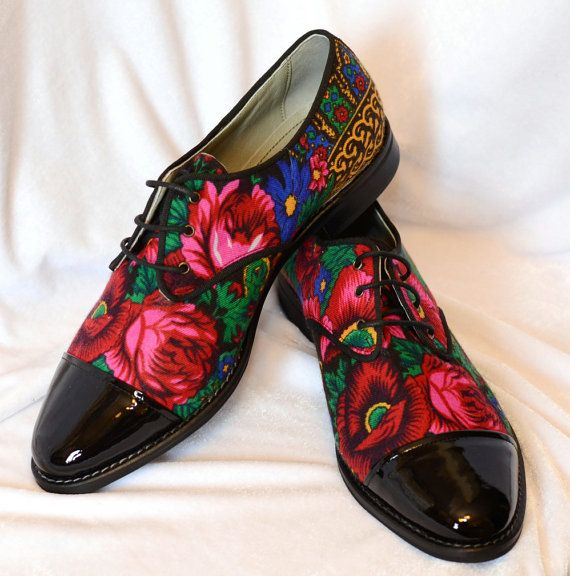 Reserved for Amber Derby shoes in Black patent by VictorianBoots