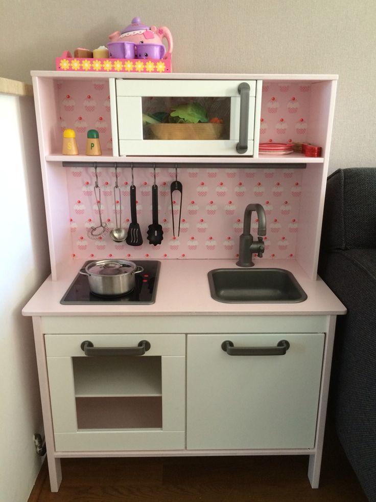 ikea kinderk che gepimpt. Black Bedroom Furniture Sets. Home Design Ideas