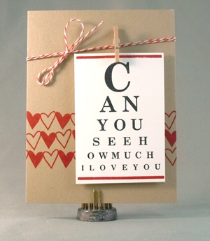 This idea is very sweet, and would be easy to recreate on a home printer.