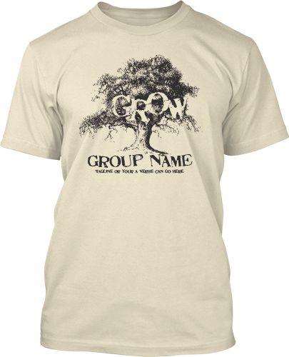 Grow Youth Group Shirt Design