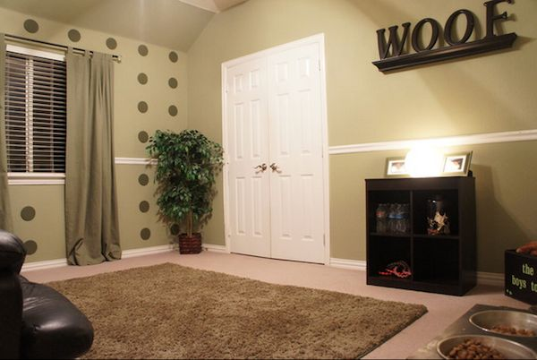 design a dog room | ... Room Decor http://www.dogster.com/doggie-style/dog-rooms-design-decor