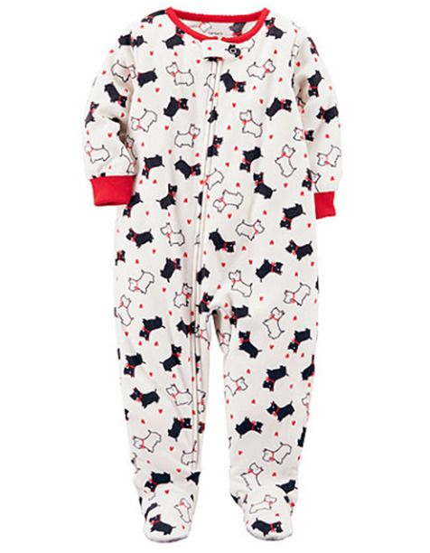 3edc73664afb Details about NEW Carter s 3 Piece PJs Puppy Dog Rainbows Pajama Set ...