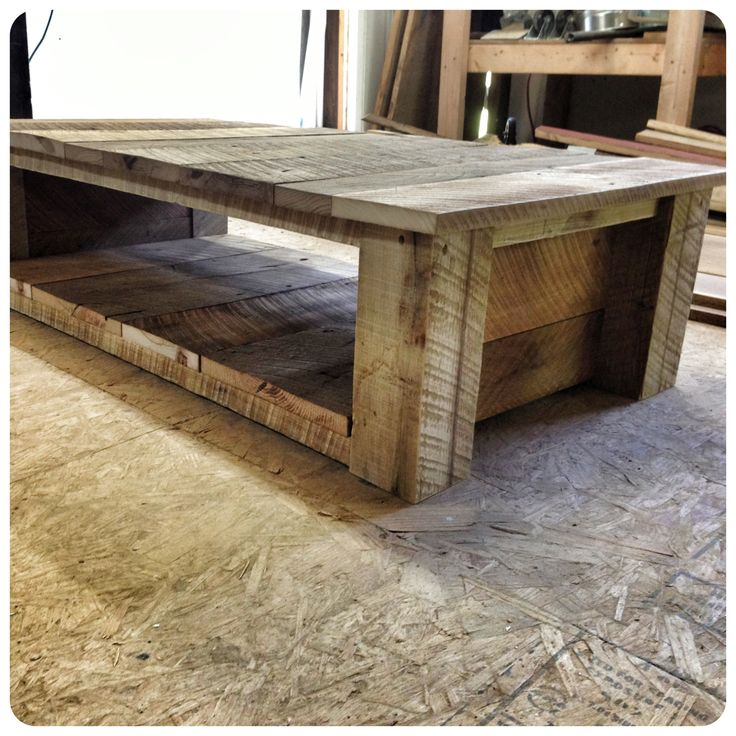 Barnwood Coffee Table Living Room Inspiration Pinterest