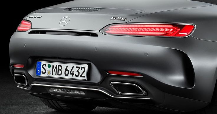 Mercedes Bringing AMG GT Facelift And GT C Edition 50 Coupes To Detroit #AMG #Detroit_Auto_Show
