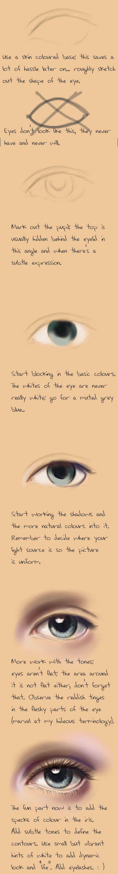 Копилка рукодельных идей и мк: Глаза и пропорции тела
