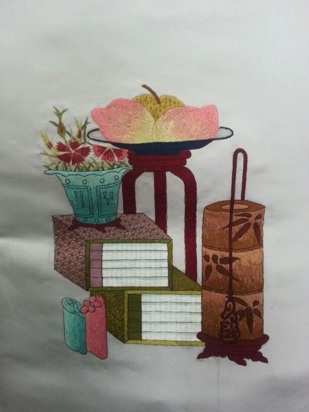 Korean traditional embroidery