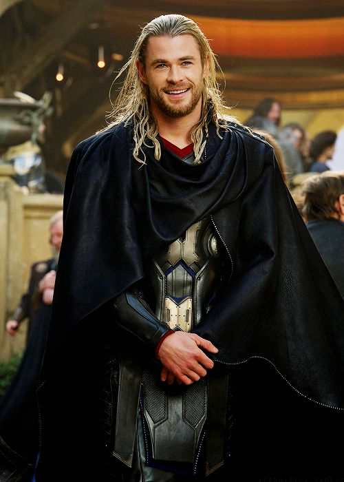 Chris Hemsworth as Thor (Thor 2)