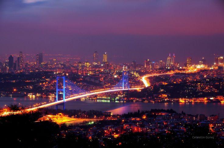 Snow, Night and Istanbul - Kar, Gece ve İstanbul