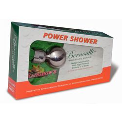 Bernoulli Power Shower Head --Save water while enjoying a softer, yet more powerful shower experience!
