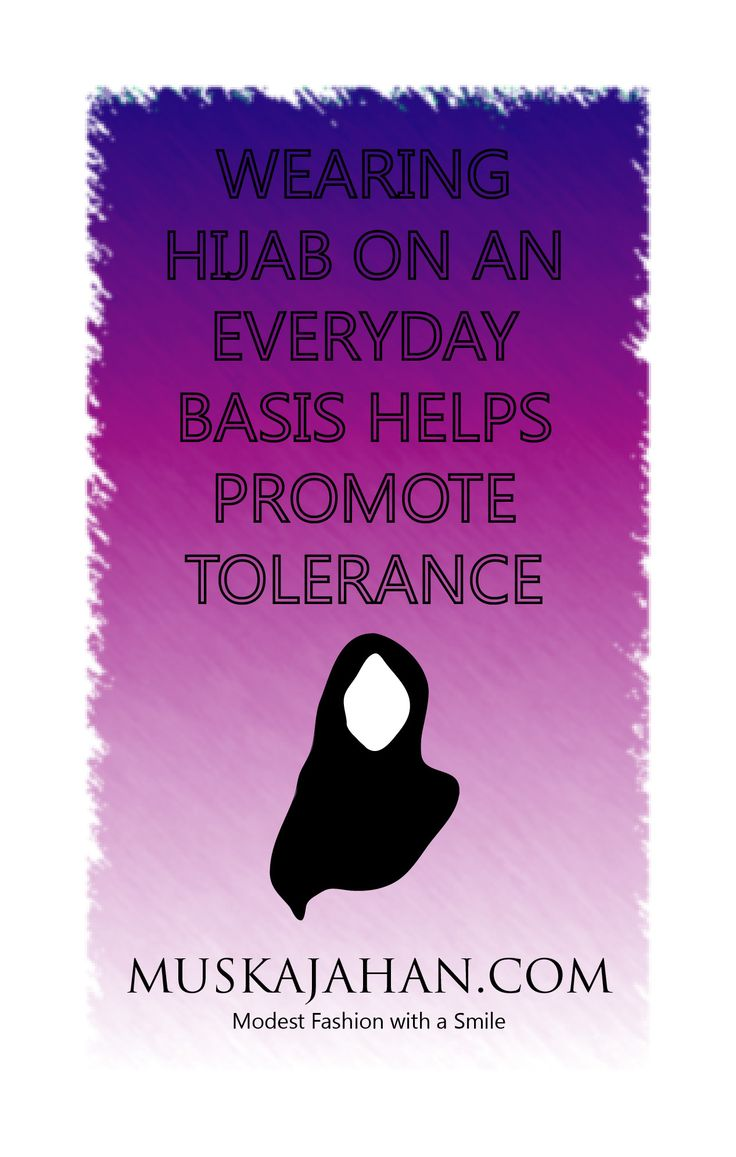 ISLAMOPHOBIA TOPIC: WEARING HIJAB ON AN EVERYDAY BASIS HELPS PROMOTE TOLERANCE