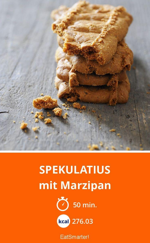 Spekulatius - mit Marzipan - smarter - Kalorien: 276.03 kcal - Zeit: 50 Min. | eatsmarter.de
