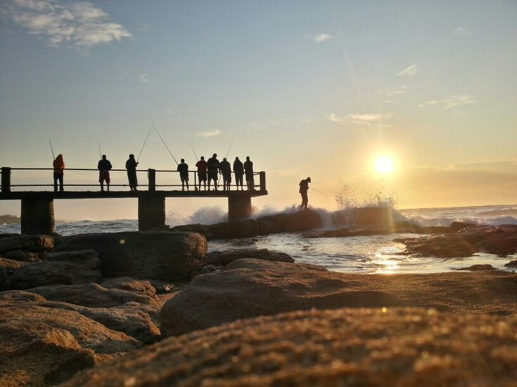 Uvongo pier...early morning...