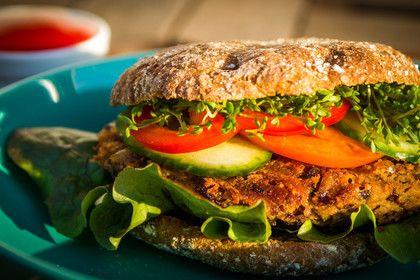 Azukibohnen Burger