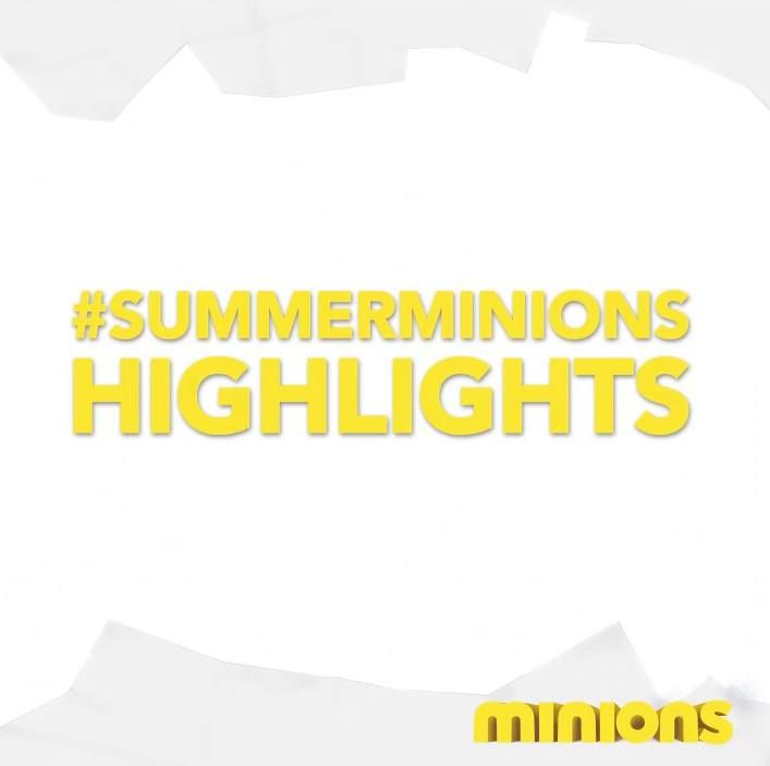Summer with the #Minions. Watch the #SummerMinions highlights video to see if your picture is featured. #minions  #minionsworld #banana #minionslove  #minionsmovie #minionsrule #minionscake #minionsstyle  #minionsparty  #minionmovie #minionmoments