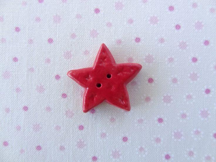 Red Star  www.cherabellabuttons.com.au