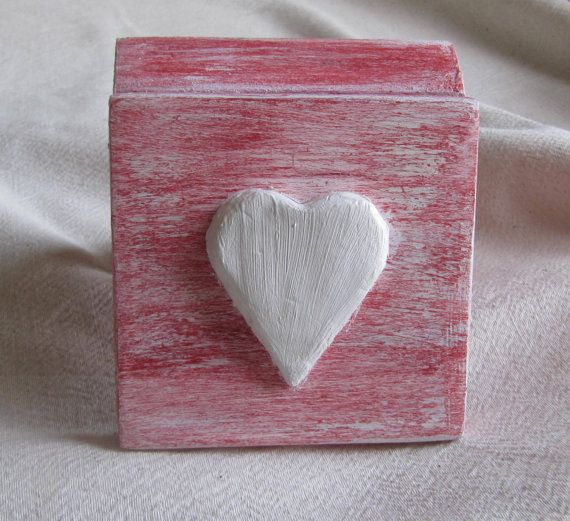 Valentines day box , trinket red box , usb box , gift for her , cute jewelry box , small storage box A sweet box as candy made with love.It is