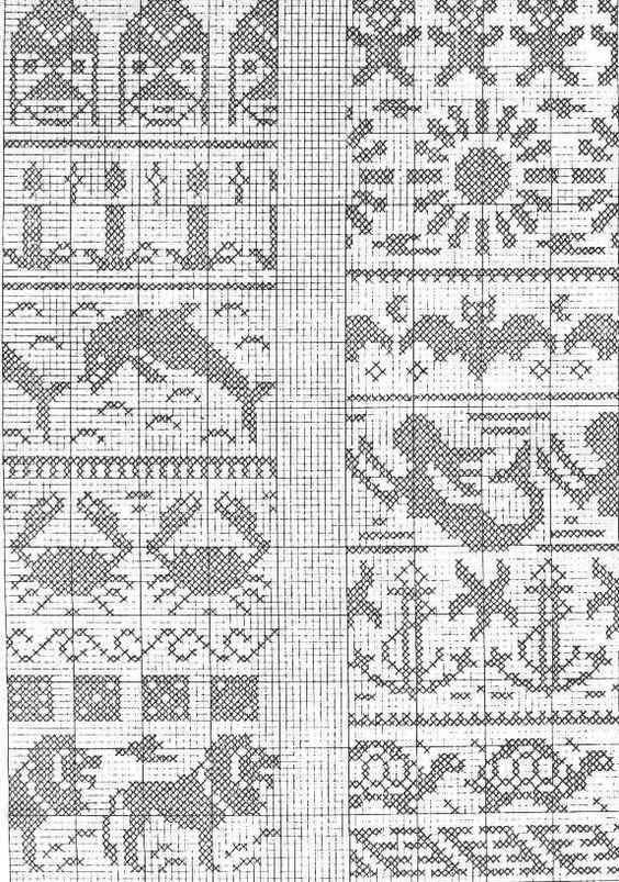 26 best Graph Patterns for Fair Isle, Cross Stitch... etc images ...