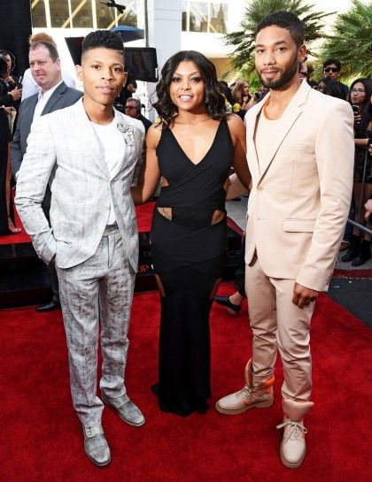 Bryshere Y. Gray, Taraji P. Henson and Jussie Smollett