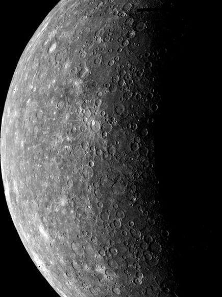 planet mercury surface gravity - photo #32