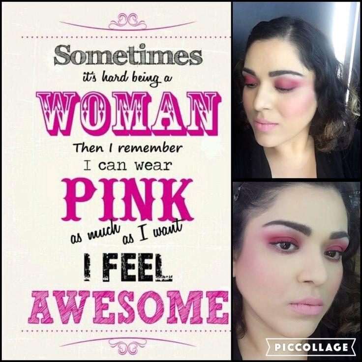 Crayon Makeup Trend Pink Makeup