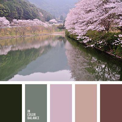 """""""пыльный"""" розовый, бежевый, болотный, весенние оттенки цветов, коричневый, нежный розовый, оттенки зеленого, оттенки розового, цвет болота, цвет весны, цвет воды в реке, шоколадный."""