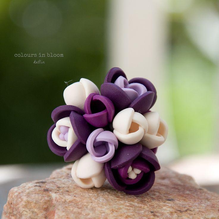 purple and cream (prsten)