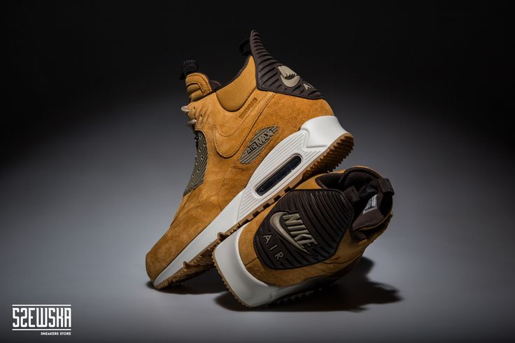 Nike Air Max 90 Sneakerboot   684714-700   http://goo.gl/5wbyz6