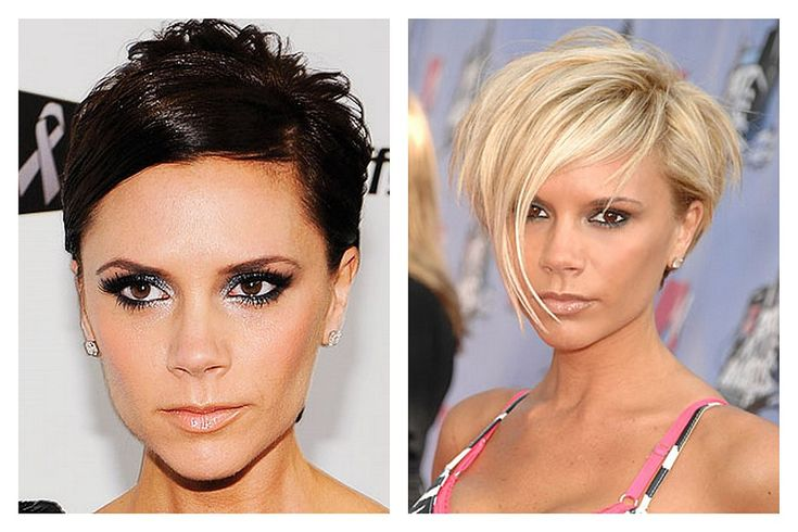 Celebrity a farby - Tmavý typ a blond farba vlasov - Victoria Beckham