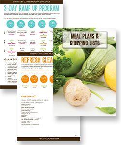Vibrant Life Cleanse Program & Cookbook | Healthful Pursuit