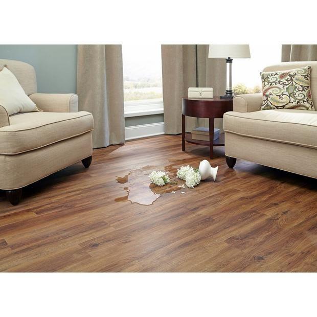 nucore gunstock rigid core luxury vinyl plank cork on floor and decor id=96153
