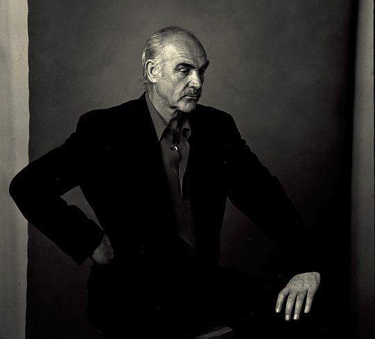 Sean Connery by Annie Liebowitz