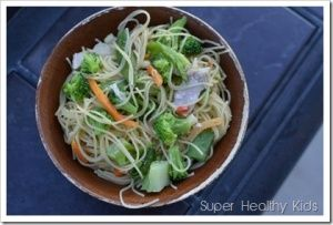 Complex Carbohydrates and 5 Minute Dinner | Healthy Ideas for Kids #healthyfastfood