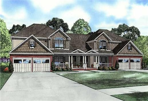 445 best images about duplexes floor plans town homes on pinterest house plans craftsman - House plans with bonus rooms upstairs ...